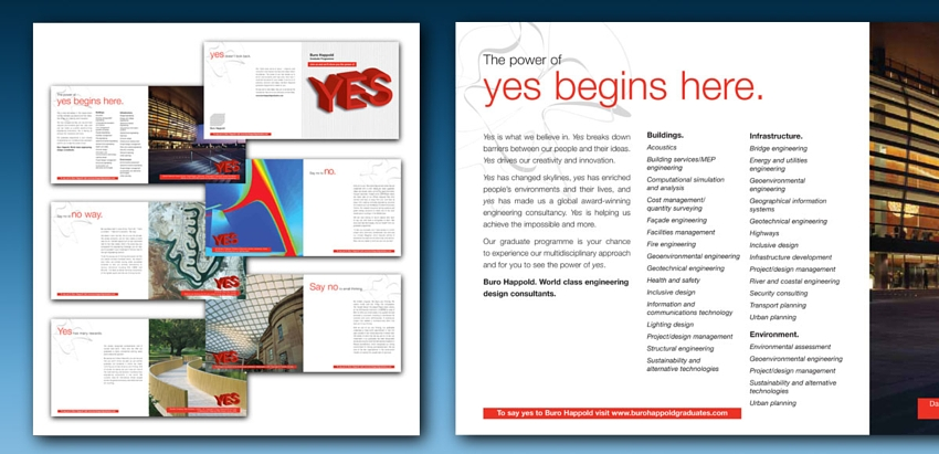 Brochure design, concept and copywriting