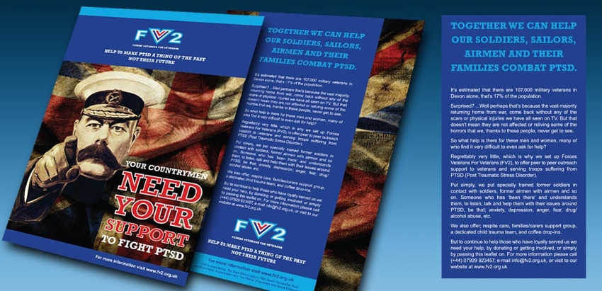 leaflet design and copywriting