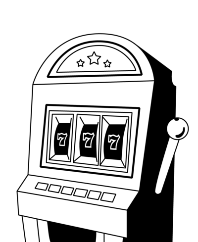 Spielautomat Illustration