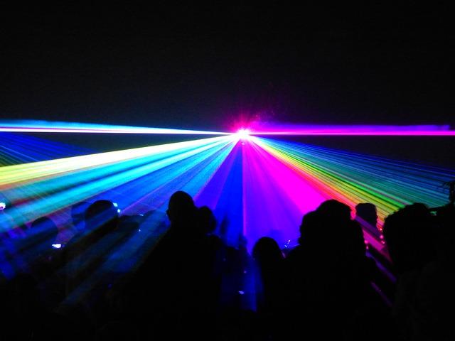 תאורת לייזר
