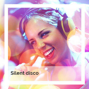 Silent disco hire | Godney Marquee Hire