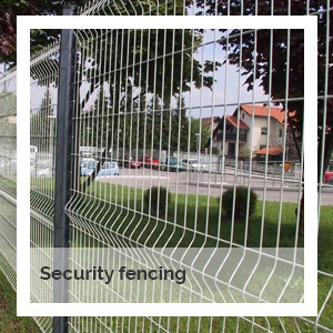Security fencing | Godney Marquee Hire