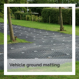 Vehicle ground matting hire | Godney Marquee Hire