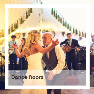 Dance floors | Godney Marquee Hire