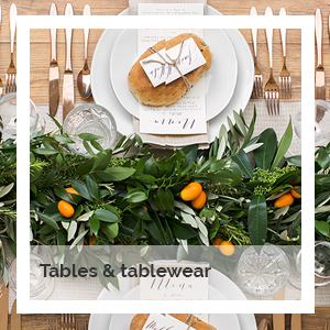 Tablewear | Godney Marquee Hire