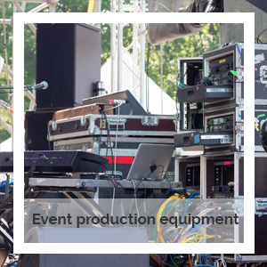 Event production equipment | Godney Marquee Hire