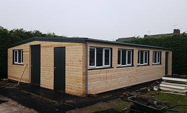 timber cladding for steel buildings