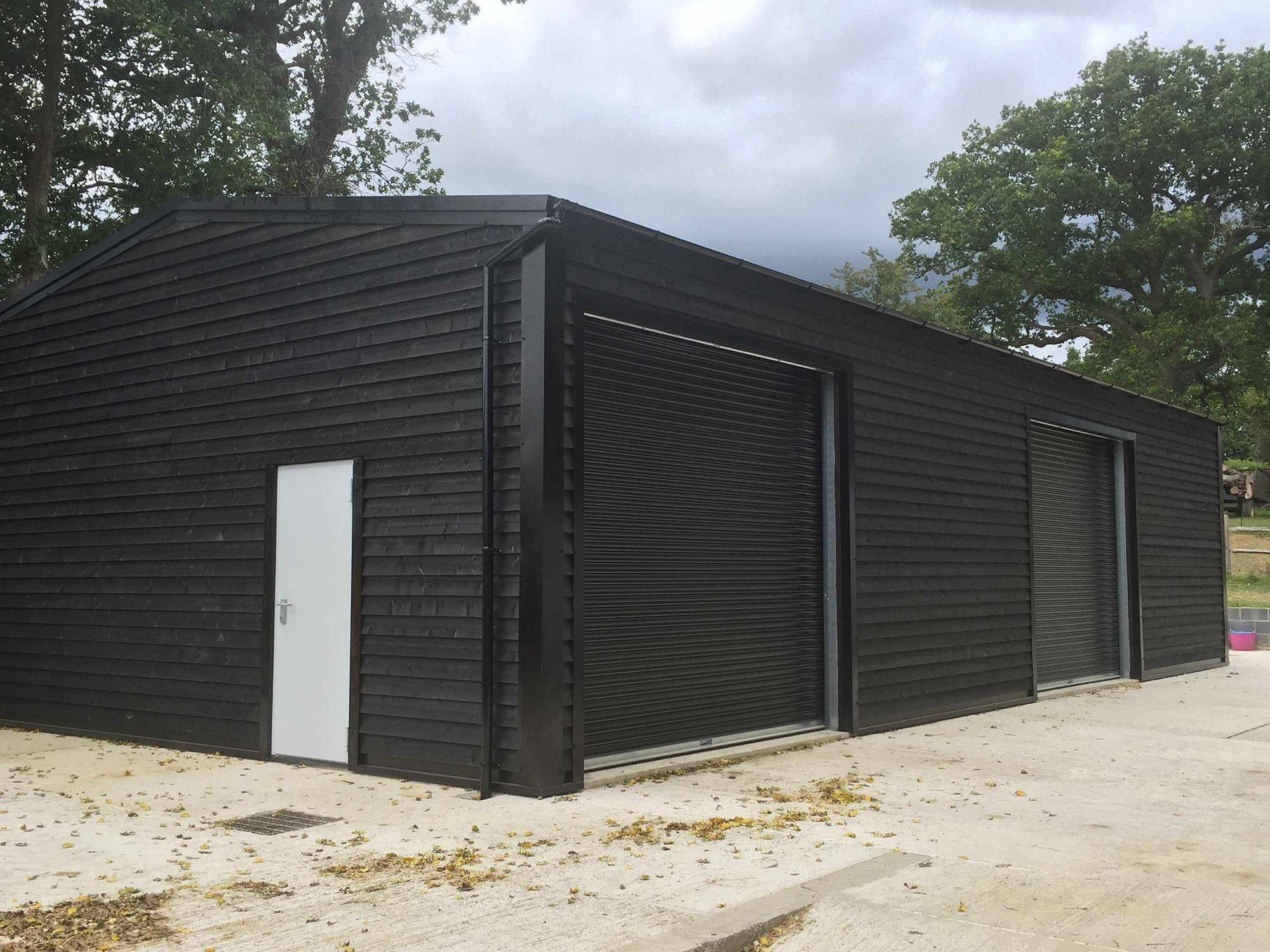 Timber Cladding for steel buildings by 3CB