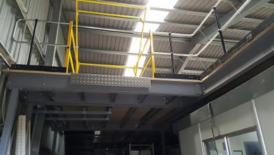 Steel Framed Mezzanine floors for steel buildings by 3CB
