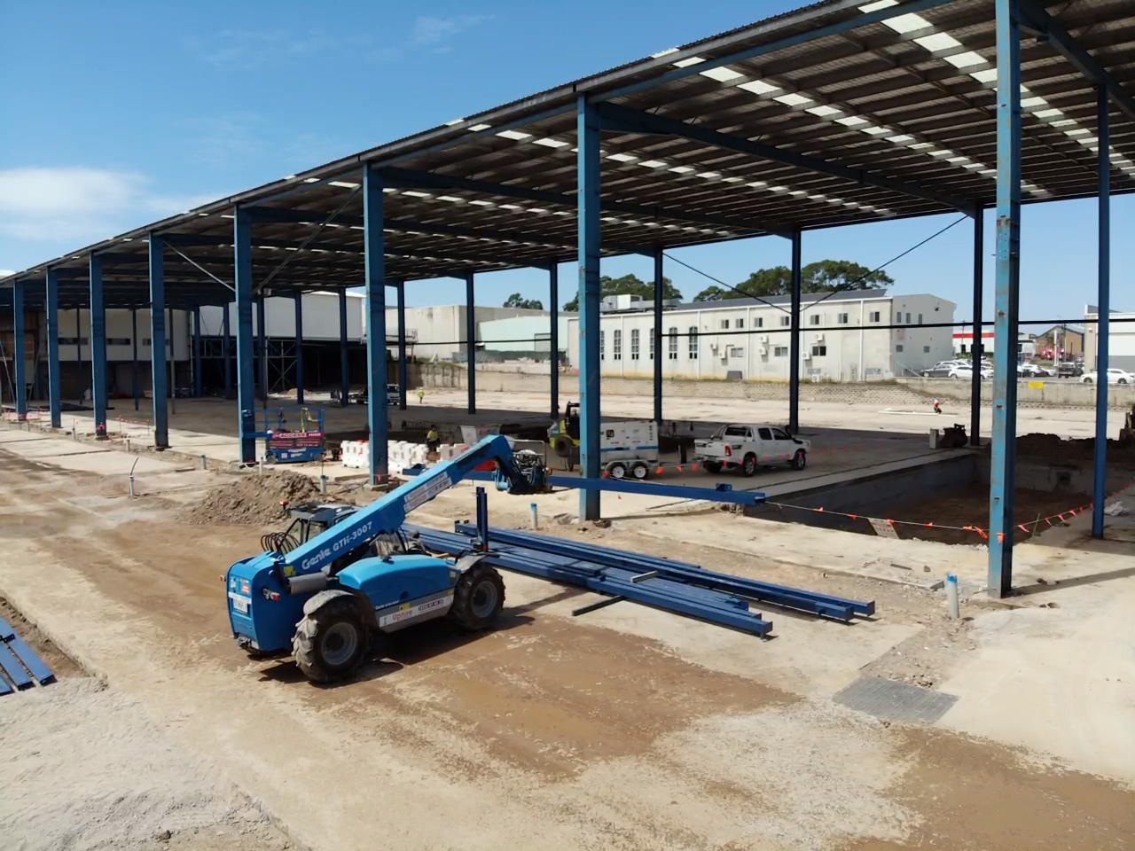 On Time Fabrication   Structural Steel Fabrication