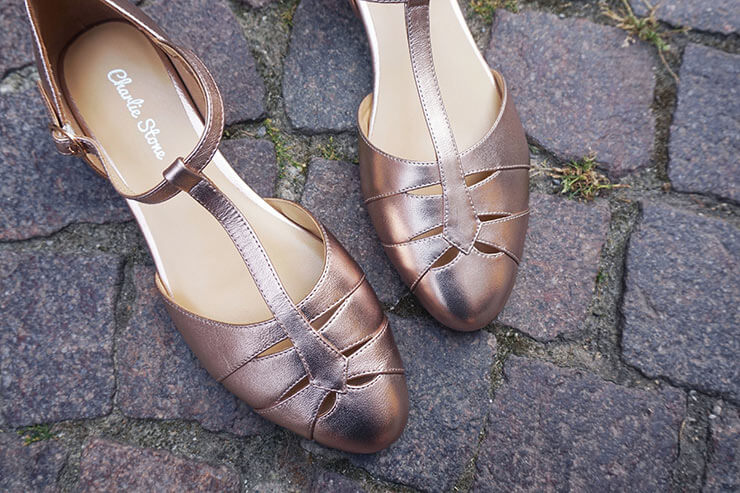 Charlie Stone - The style of vintage shoes with the comfort of flats