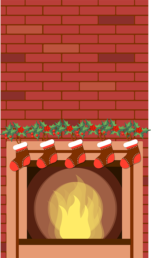 Santa Hire Fire Place