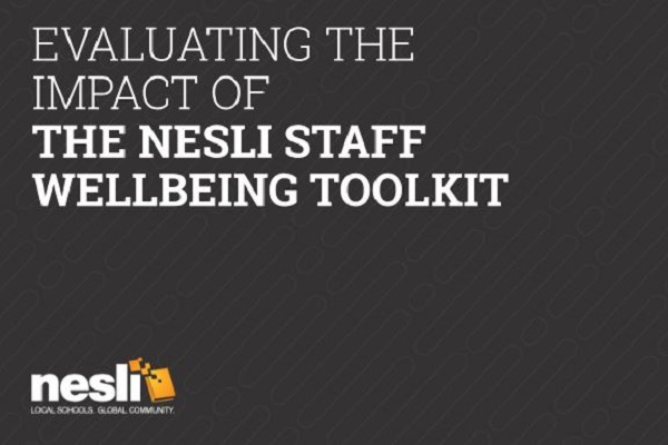 Evaluating the impact of the NESLi Staff Wellbeing Toolkit