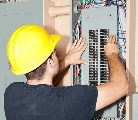 Link to the Oakwood Electrical & Generator  Installation Services Page