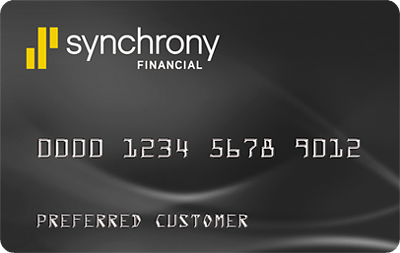 image of a Synchrony Credit Card