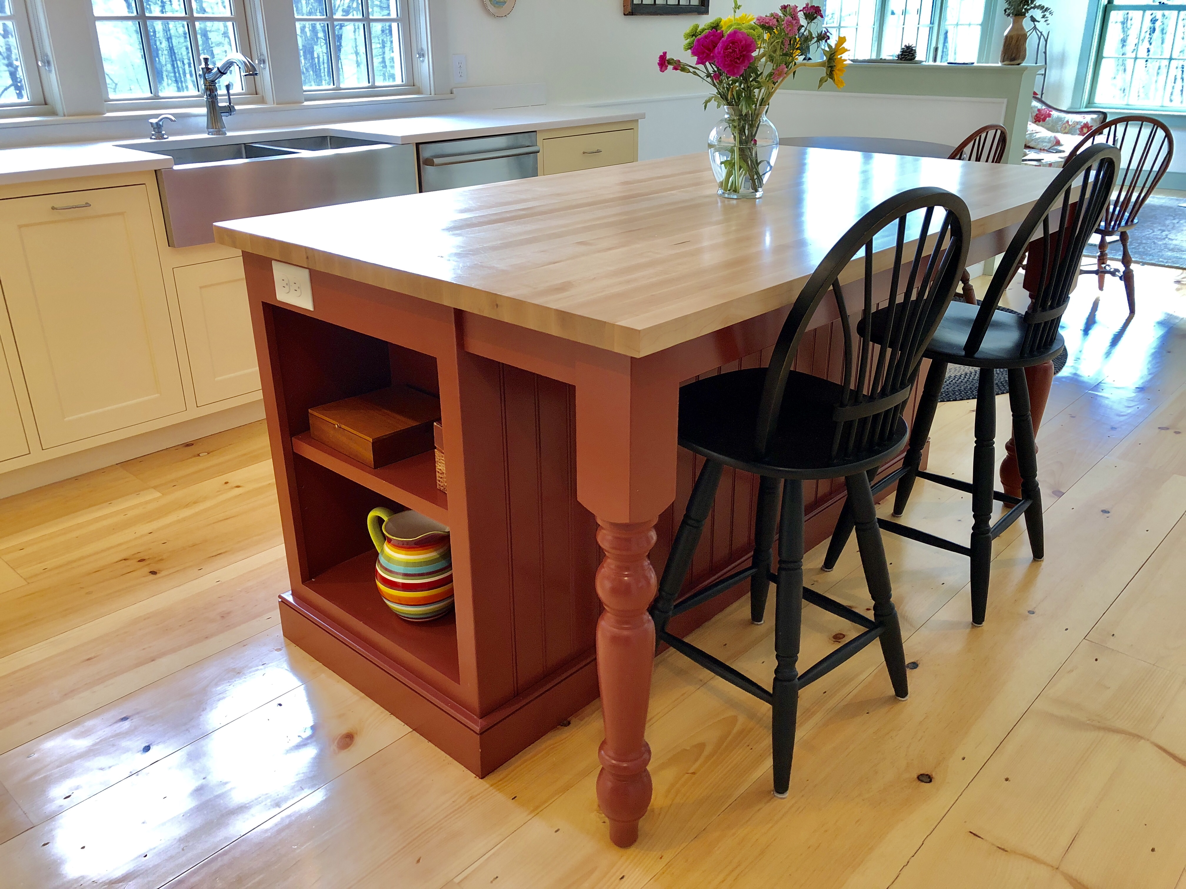 Custom Kitchens And Cabinets Wellesley Ma