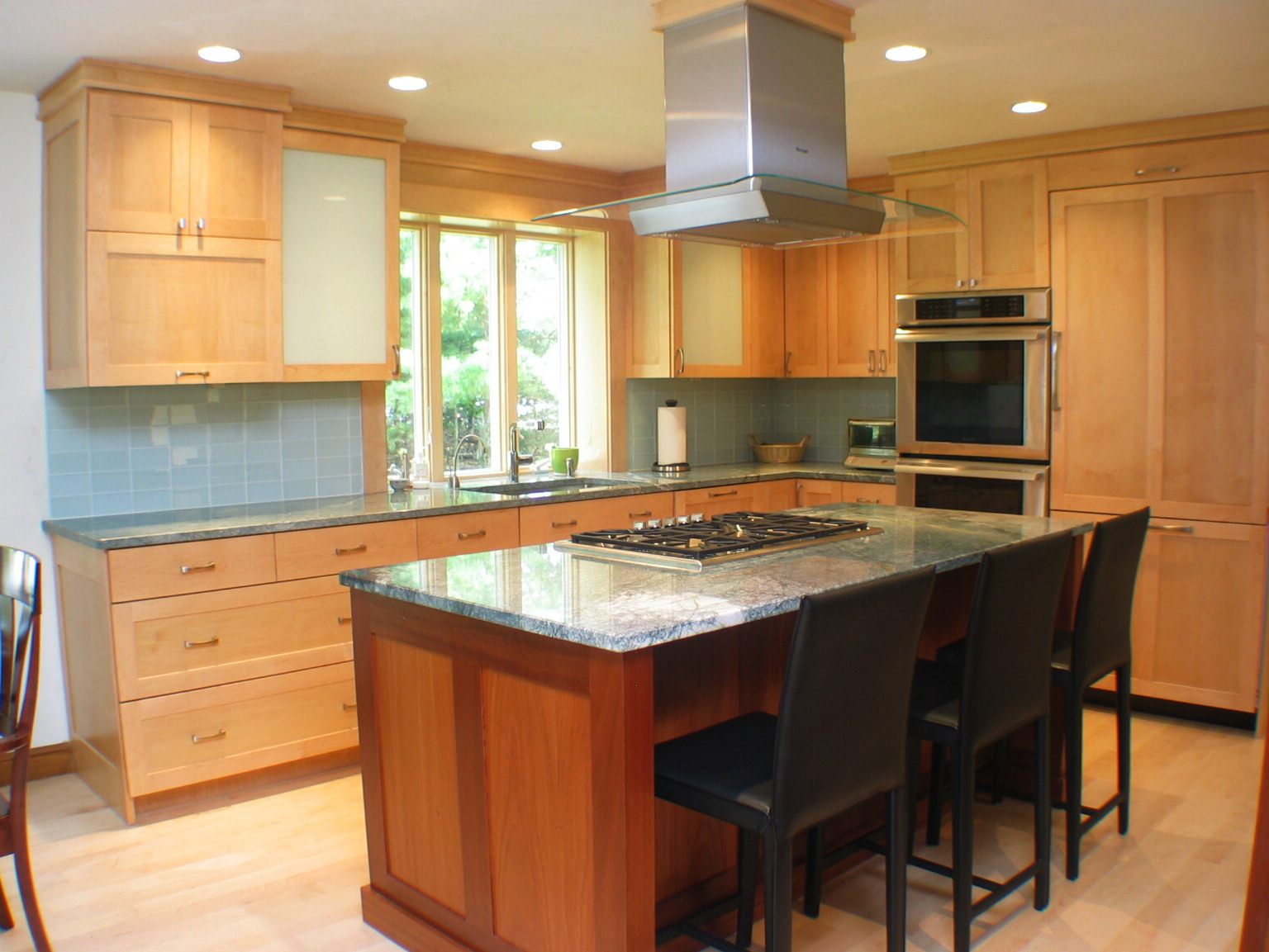 Custom Mahogany Cabinets - Marlborough MA