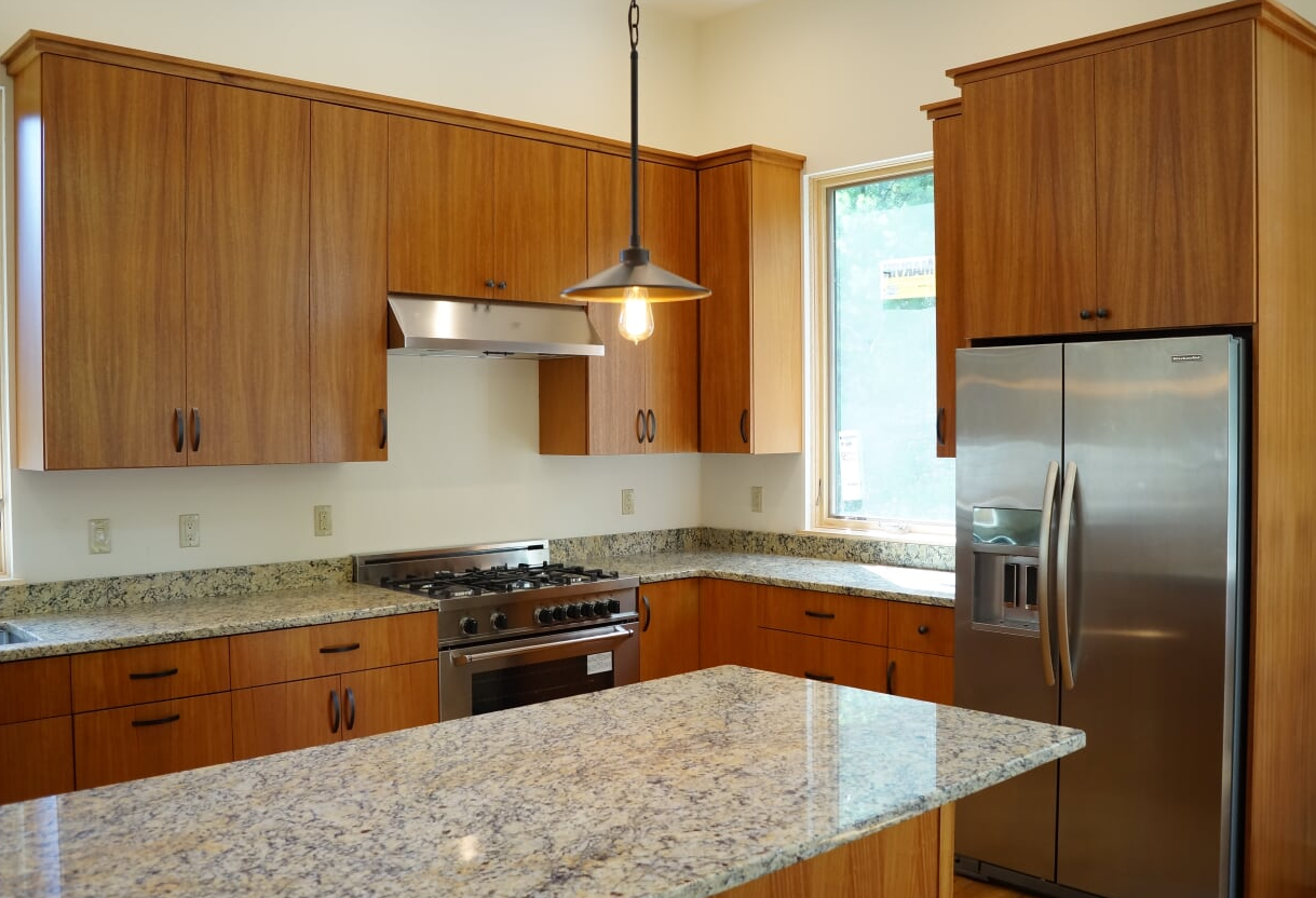 Veneer Custom Kitchen Cabinets - Bolton MA
