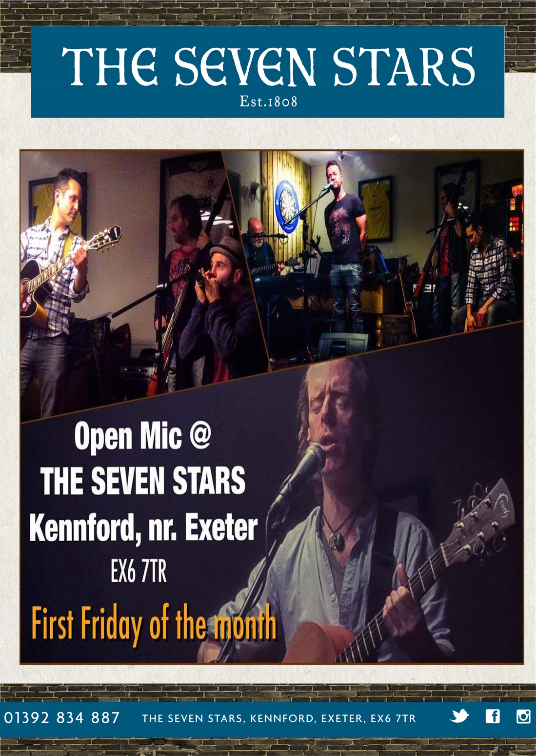 Music at The Seven Stars Kennford Exeter