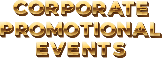 Corporate & Promotional Events