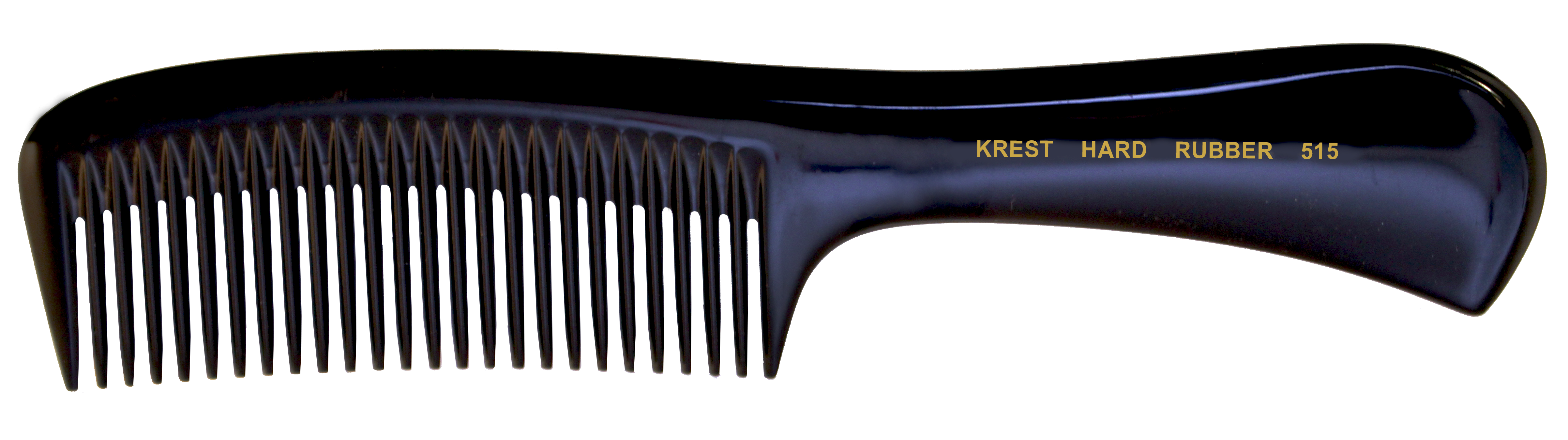 No. 515 Krest Hard Rubber Combs