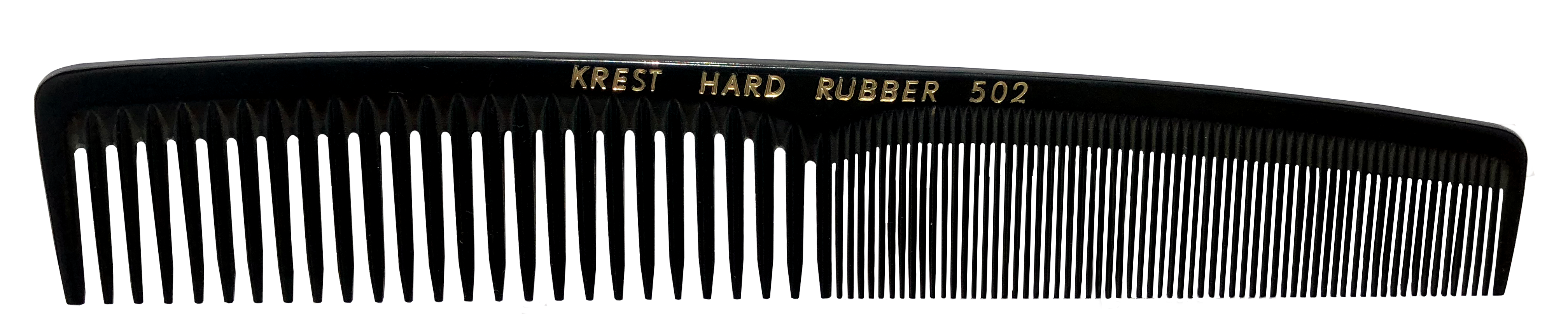 No. 502 Krest Hard Rubber Combs