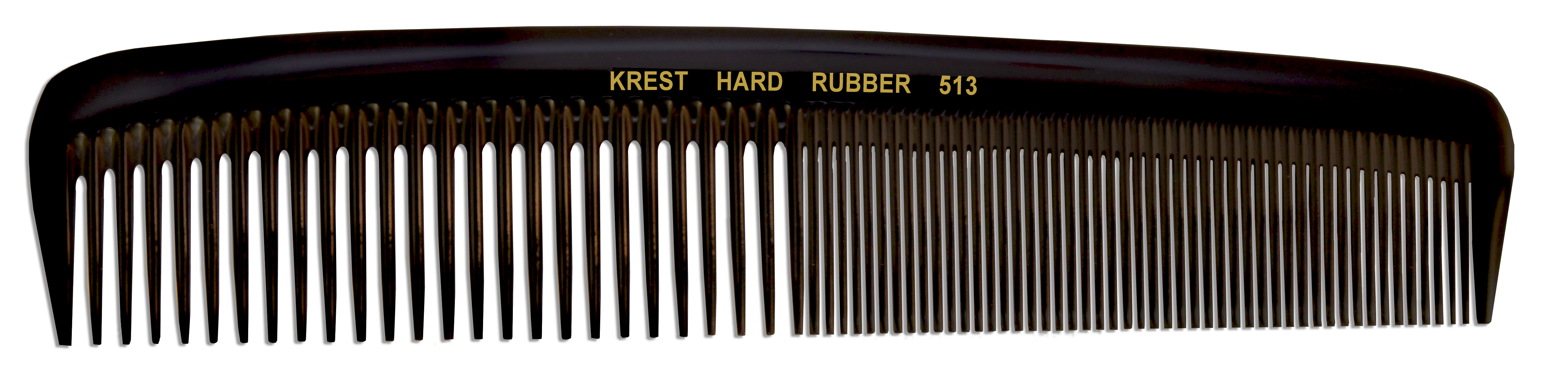 No. 513 Krest Hard Rubber Combs