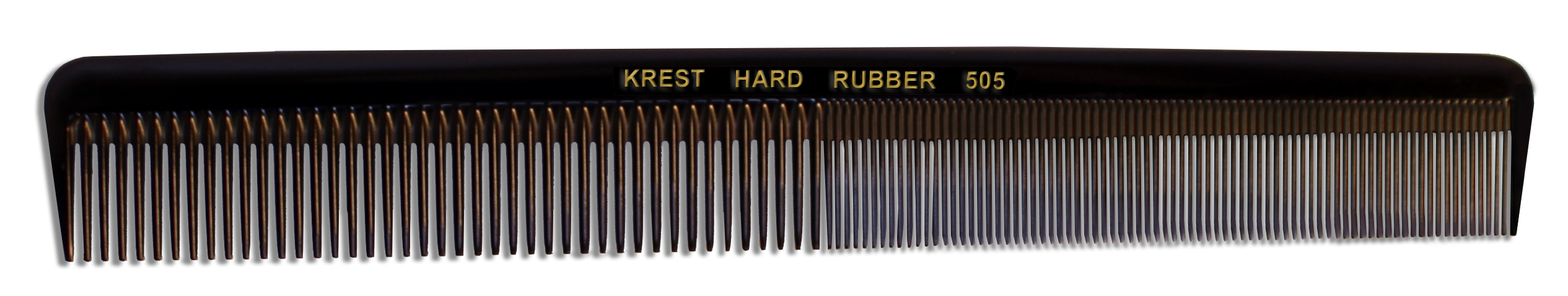 No. 505 Krest Hard Rubber Combs