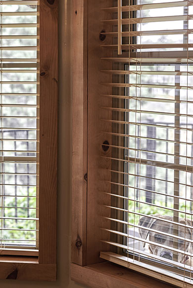 TIMBER & FAUX  WOOD BLINDS