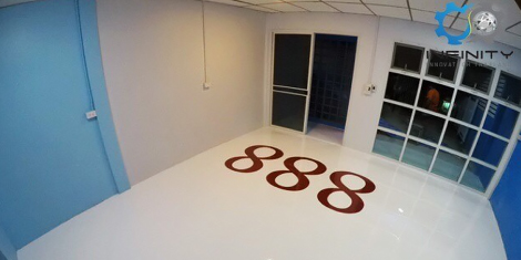 Epoxy Self - leveling with moisture barrier 2.5 mm