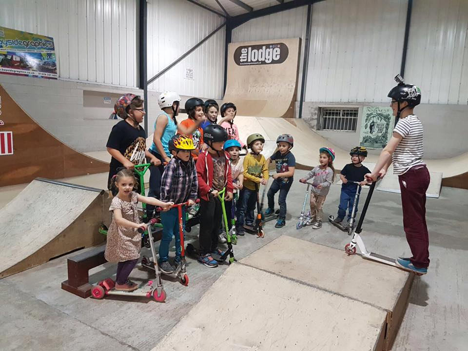 The Lodge Skate Park | Newton Abbot | Indoor Skate Park Devon