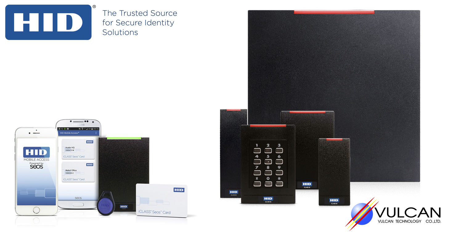 hid card reader iclass se เครื่องอ่านบัตร access control hid