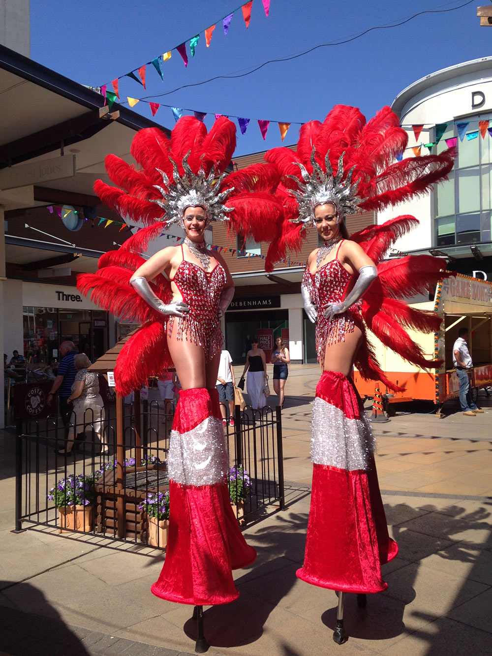 Carnival Theme - Stilt Walkers
