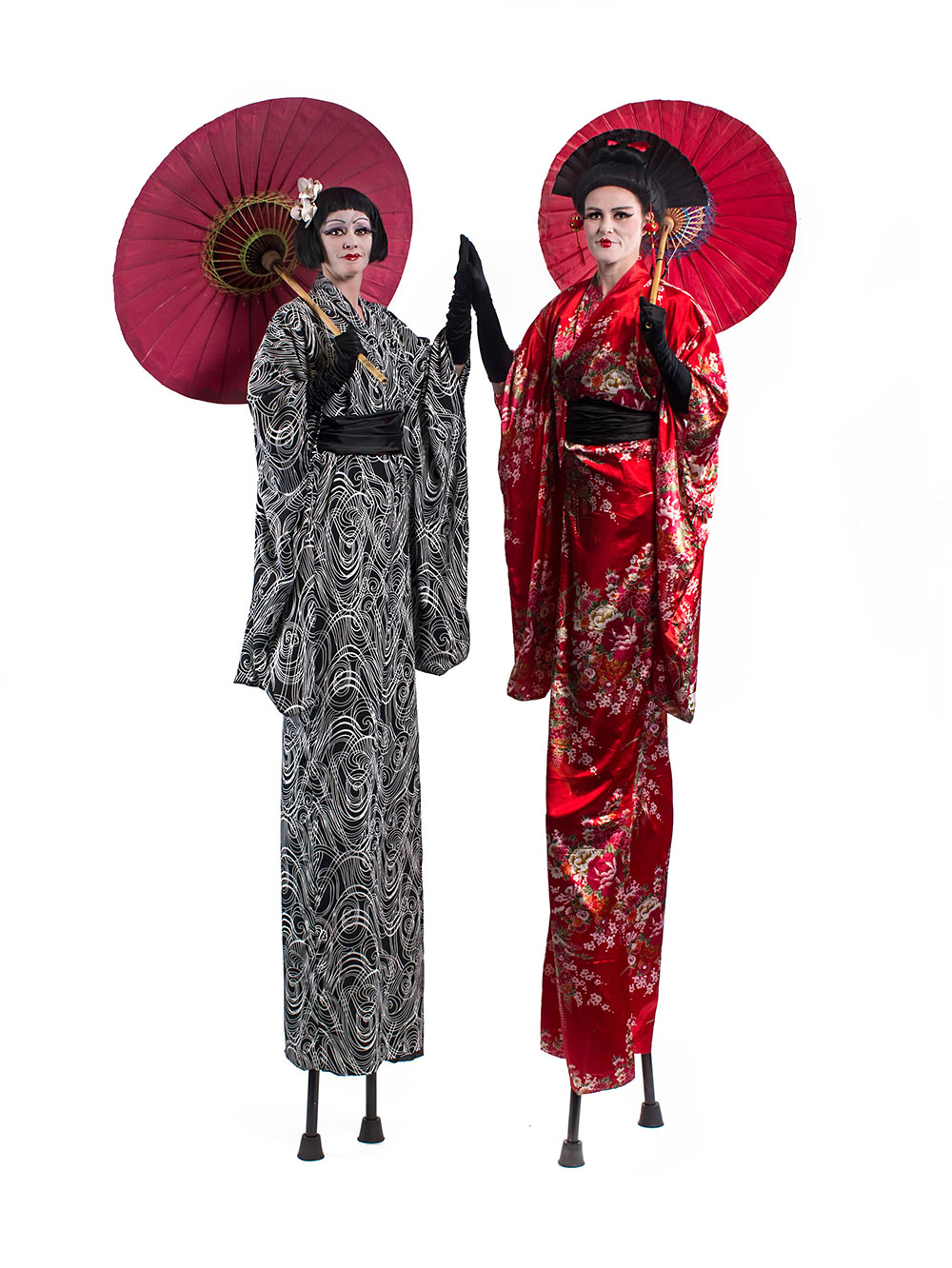 Geishas - Stilt Walkers