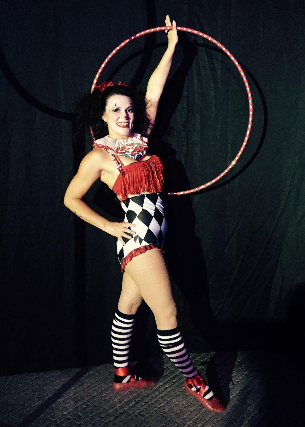 Hula Hoop Clown