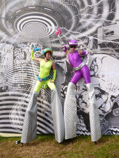 Circus Antics Space Rangers - Stiltwalkers