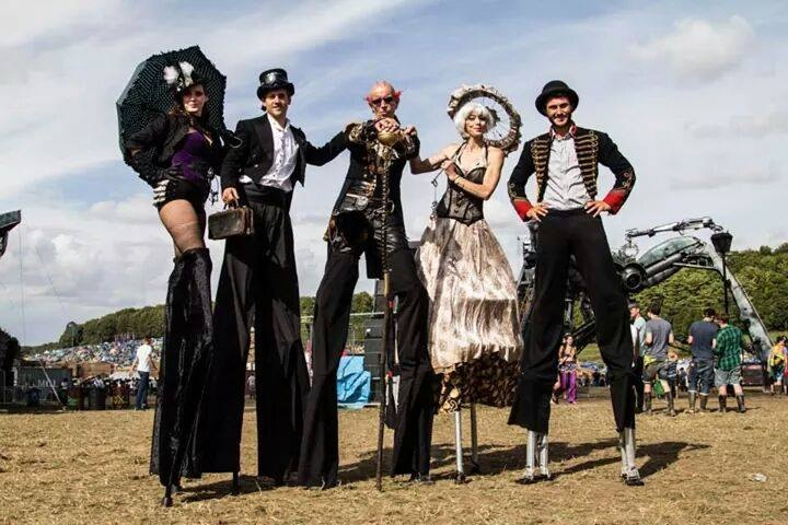 Circus Antics Steampunk - Stiltwalkers