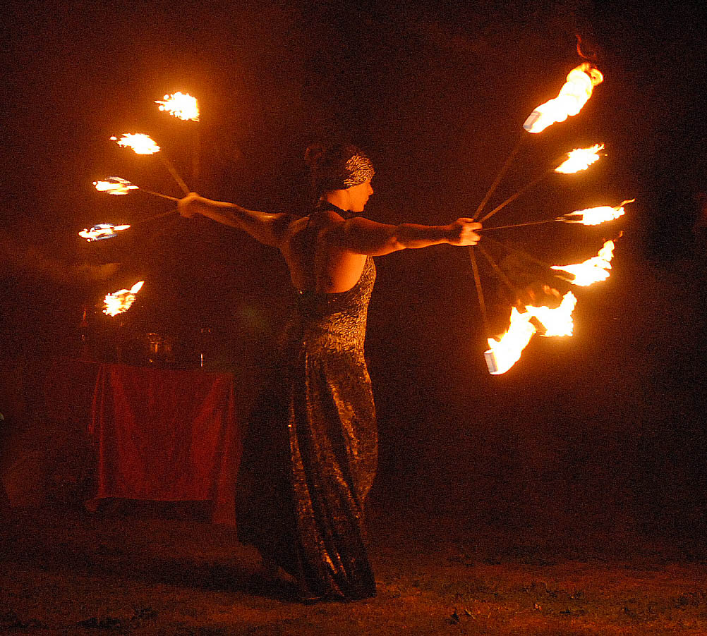 The History of Fire Performers
