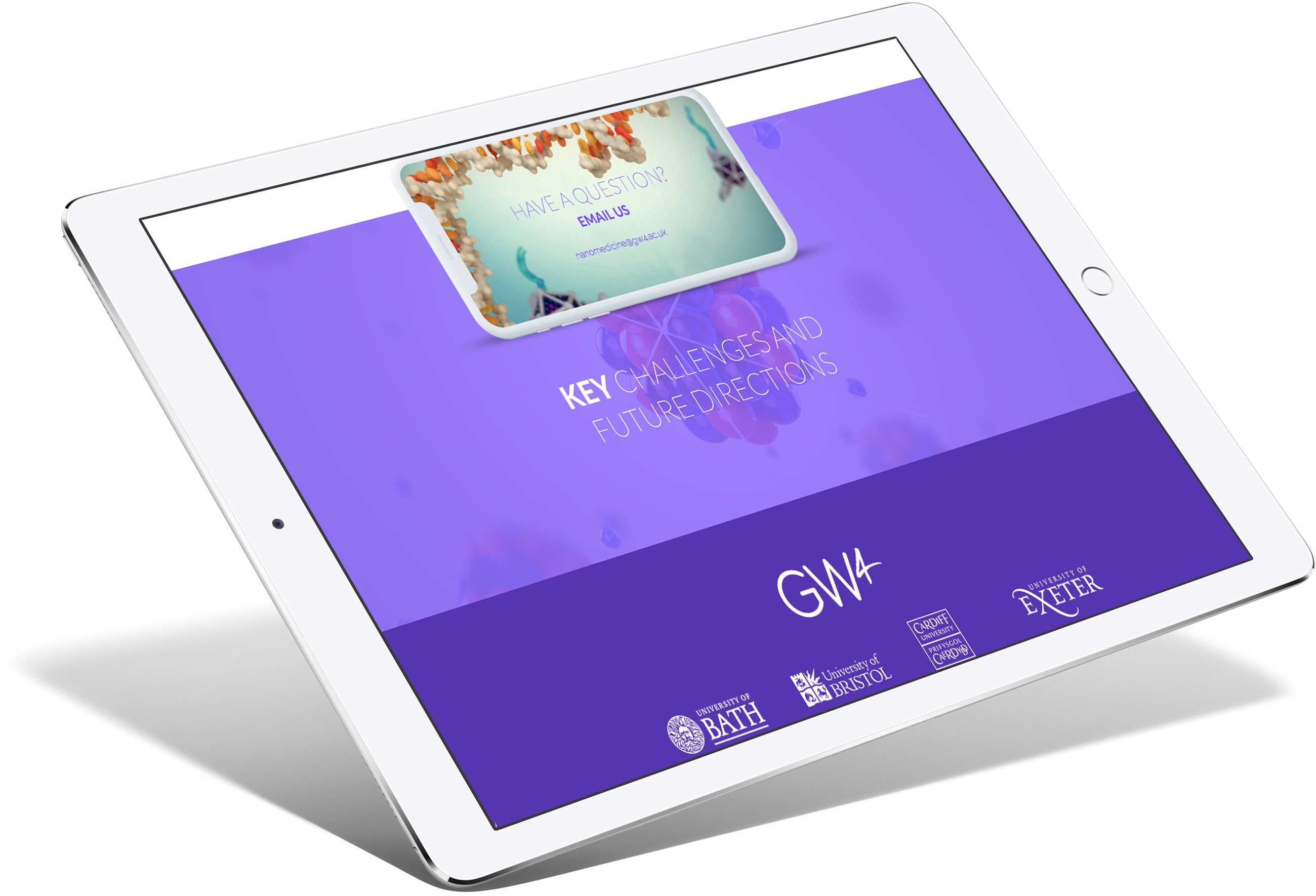 GW4 NanoMedicine | Responsive Website
