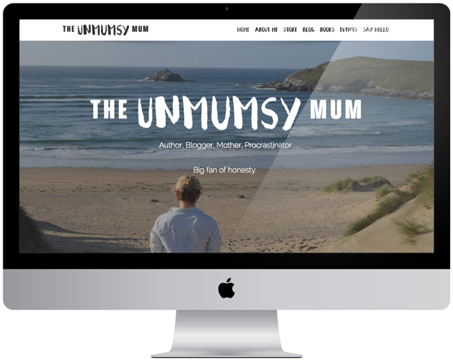 The Unmumsy Mum | Responsive Website