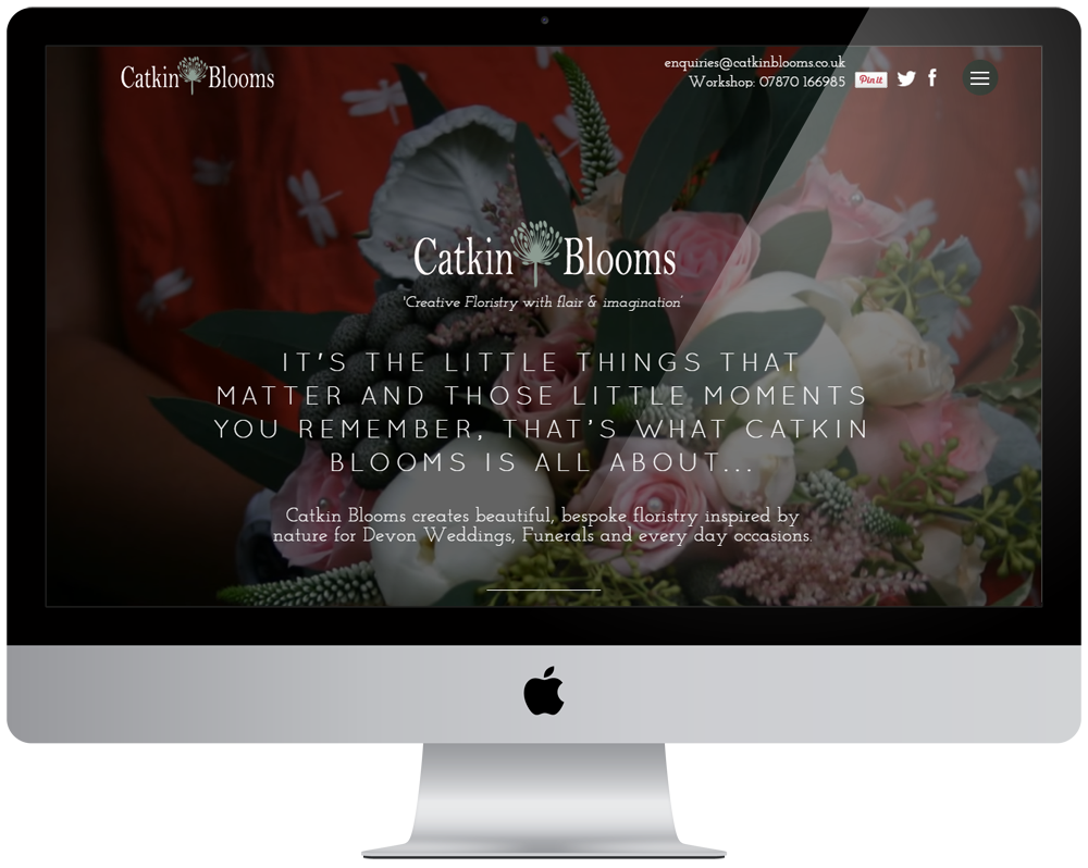 Catkin Blooms Responsive Website