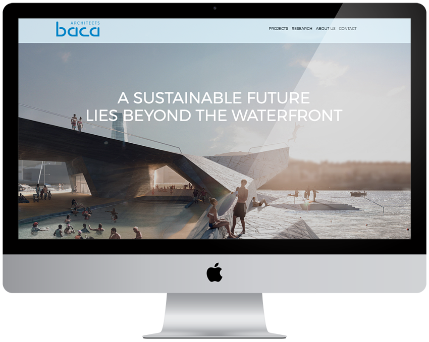 BACA Architects | Responsive Website