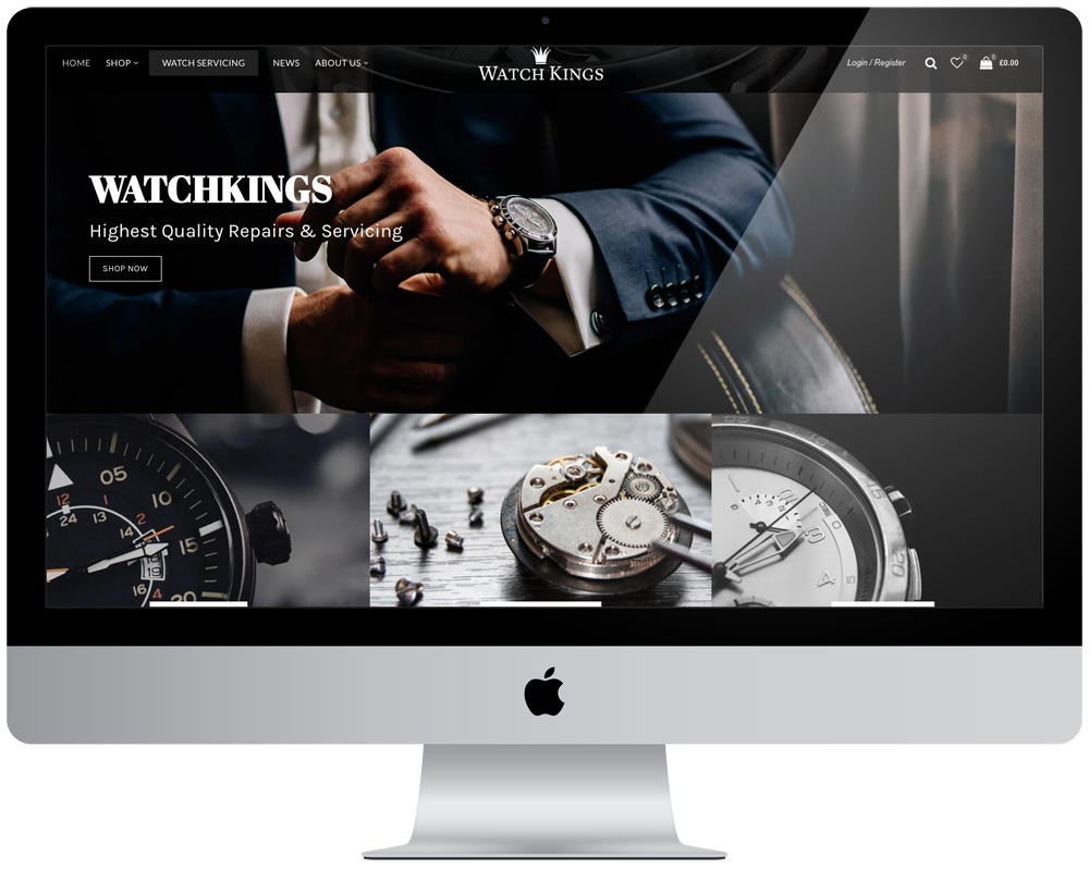 Watch Kings | Responsive Website