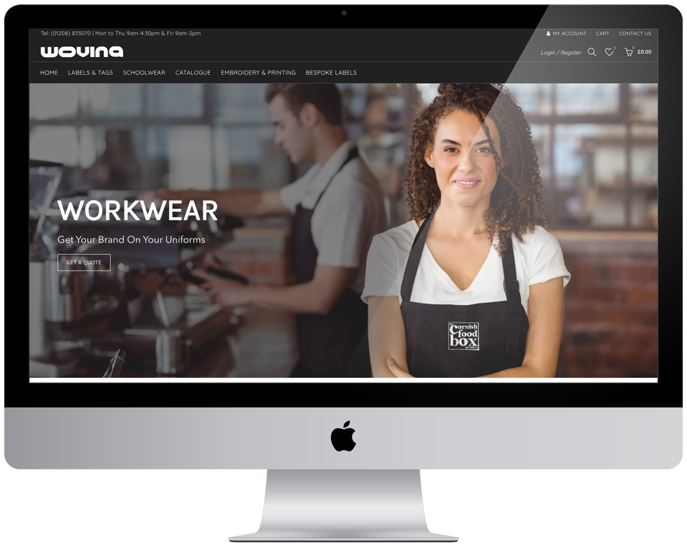 Wovina | Responsive Website