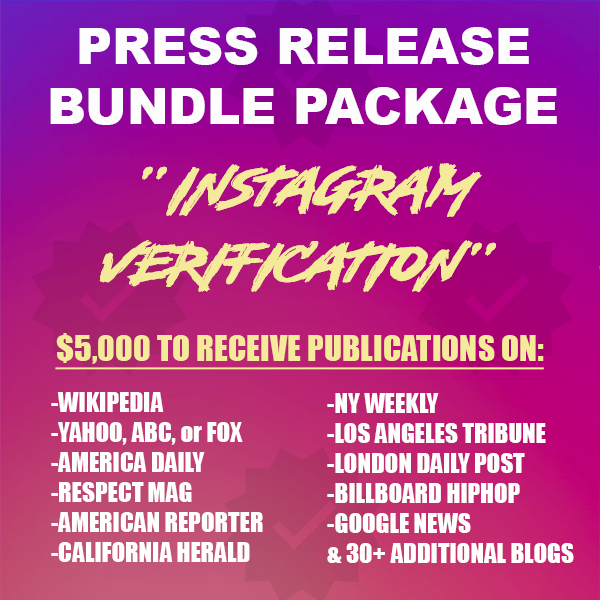 Instagram Verification Package