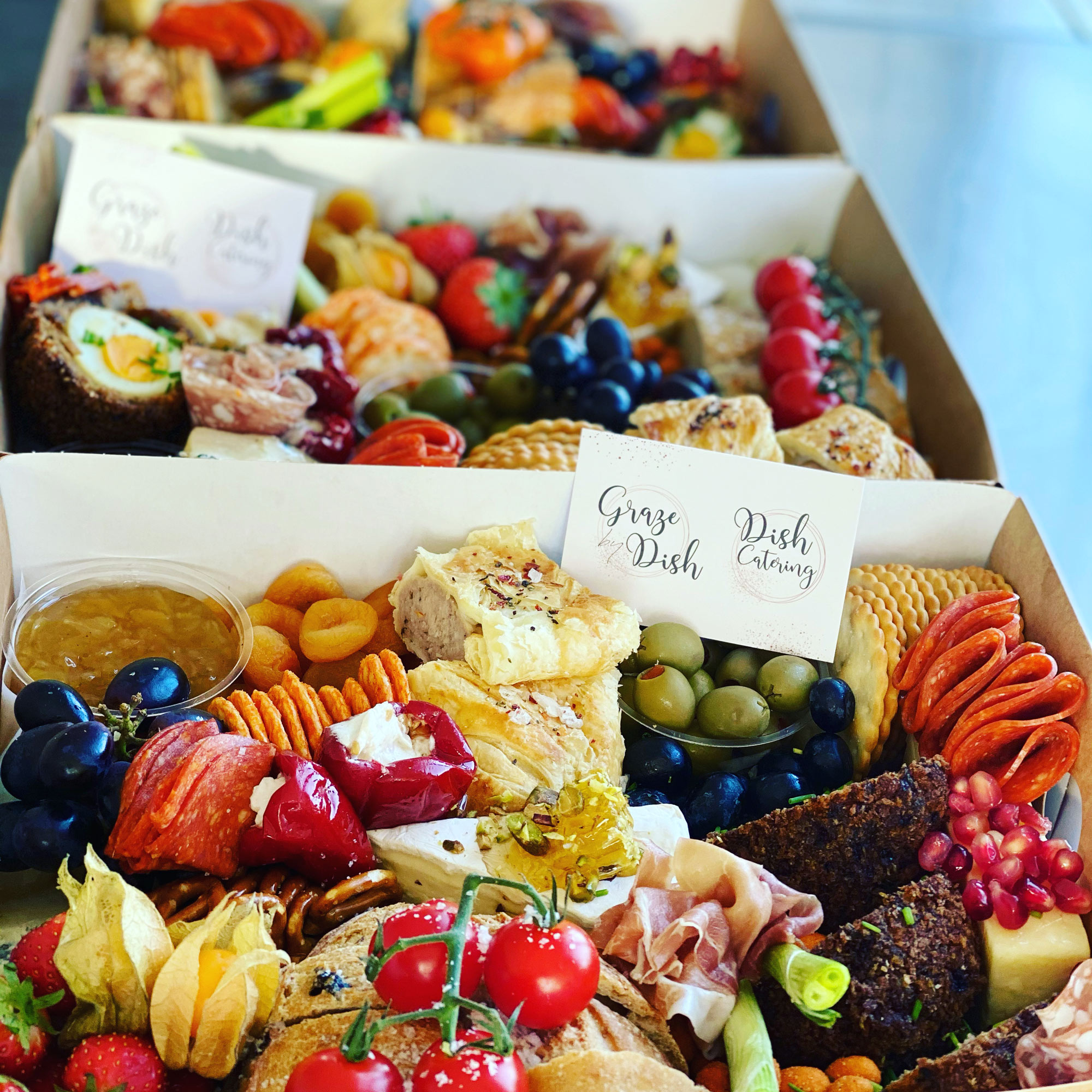 Graze by Dish | Event Catering Company | Grazing Boxes & Platters