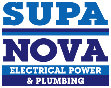 Supa Nova Electrical Power and Plumbing Logo